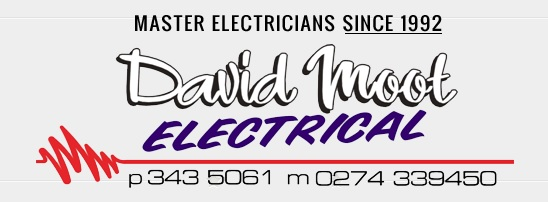 David Moot Electrical. Canterbury Region Residential and Commercial Electricians